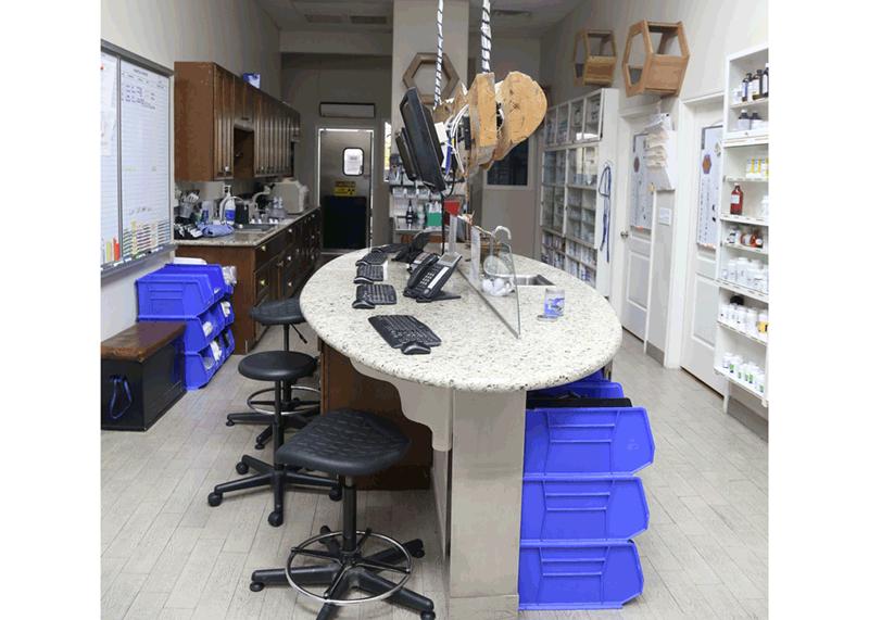 Safari's Full, In-House Laboratory