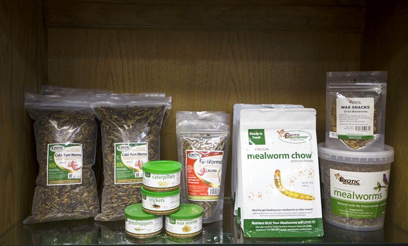 Exotic Nutrition Pet foods at Safari