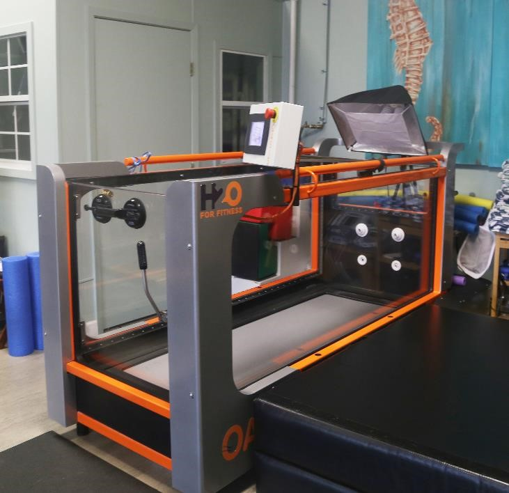 Safari's Rehabilitation Room, Water Treadmill