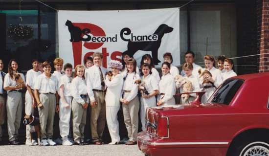 Second Chance Pets co-founded by Dr. Garner