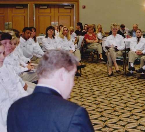 Safari Customer Service Meeting Demonstration led by Dr. Garner