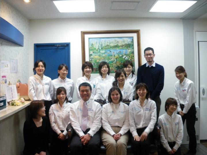 Dr. Fuji's team ready for VetPlan Training
