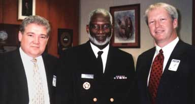 Dr. Garner meeting with Dr. David Thatches – US Surgeon General