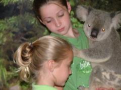 Annsley and Kippin, Dr. Garner's children in Australia