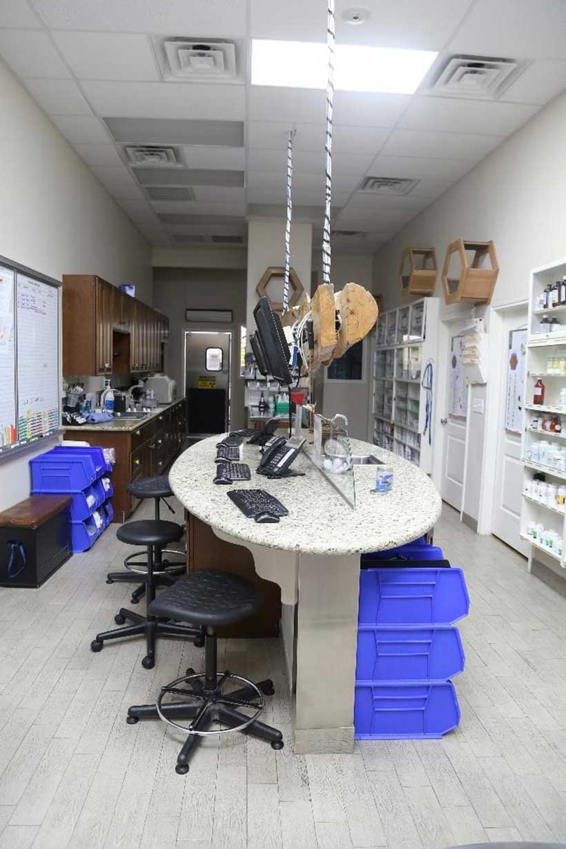Custom designed full in-house Laboratory