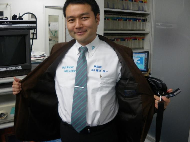 Dr. Koichi Fuji from Japan has adopted the Safari Standard uniform