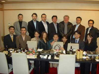 Initial group of Japanese Veterinary Practice owners who installed VetPlan Software and Safari System