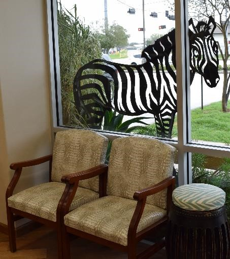 Zebra Iron Art